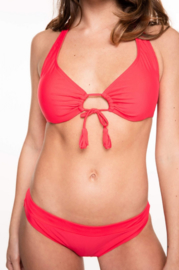 Bikini Manouxx Uni Triangle Wire Coral