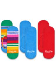 Happy Socks Liner Socks Multi Stripe 3-Pack