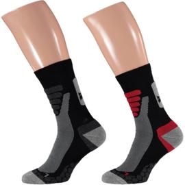 X-treme Walking | Wandel sokken | Multi Black | 2-Pack