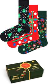 Happy Socks Christmas Holiday Music 3-Pack Giftbox