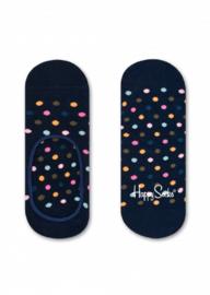 Happy Socks Liner Socks Mini Dots Donkerblauw