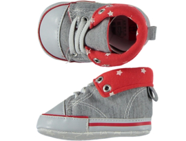Baby Boy, Baby Girl Sneakerschoentjes | Grijs Rood