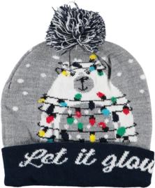 Sarlini Kerstmuts met lichtjes | Let it Glow