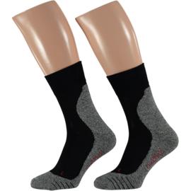 X-treme Sport Sokken | Multi Black | 2-PACK