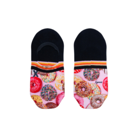XPooos | Footie, invisible sneakersok | One Size | Donut