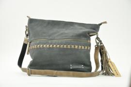 Bag2Bag SUÉDE Shopper - Schoudertas Merida Grey