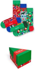 Happy Socks Christmas 3-Pack Gift box