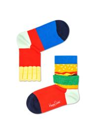 Happy Socks Kids Burger and Fries Sock