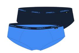 O'Neill Dames Hipster Plain 2-pack Ice Blue marine 801042
