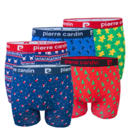 Pierre Cardin Heren Boxershort Kerst 5-Pack