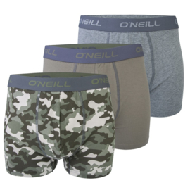 O'Neill 3-Pack Heren Boxershorts Camouflage   900173