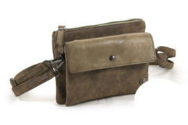 Army Green heup | schoudertasje | crossbodybag Funchal