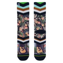 Xpooos Heren Socks Hawaï Blues 60227