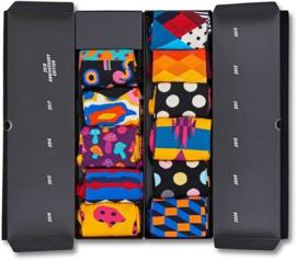 Happy Socks 10 year anniversary giftbox, 11-PACK
