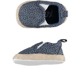 XQ Little Shoes | Instappers voor boy or girl | Blue Spots