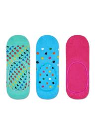 Happy Socks 3-Pack Liner | Sneaker Socks Happy