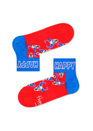 Happy Socks Athletic Buffalo 1/4 Crew Sneaker Sock