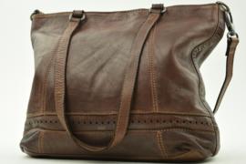 Bag2Bag Limited Edition Shopper   Denton Dark Tan Cognac
