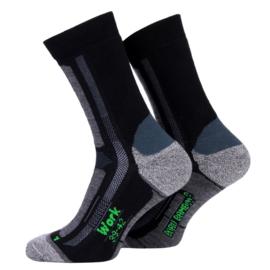 Boru Bamboo Work Sock | Werksokken | 5-Pack | Zwart