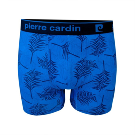 Pierre Cardin Heren Trunk | Boxershort Palm Leaves Blauw