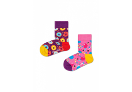 Happy Socks Kids 2-pack  Donuts and Candy