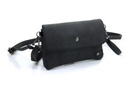 Zwart heuptasje | schoudertasje Hulst