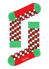 Happy Socks Christmas Happy Holiday 2-Pack Gift box