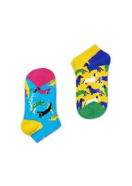 Happy Socks Kids 2-Pack Cat & Dog Low Sock