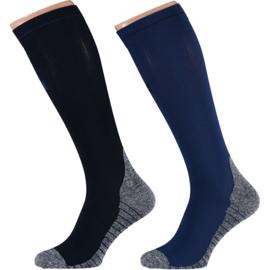 X-treme | Running Compression Socks Blue | 2-Pack