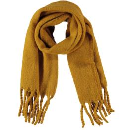 Sarlini lange gebreide Sjaal Mabel | Okergeel