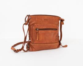 Bag2Bag Marchje Limited | Stoer Schoudertasje | Crossbody | Cognac