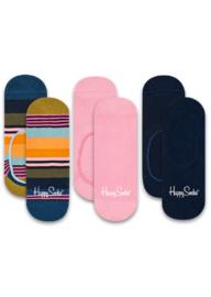 Happy Socks Liner Socks Stripes 3-Pack
