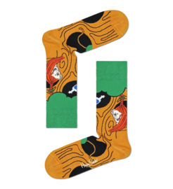 Happy Socks Pippi Langkous Lemonade Tree Sock
