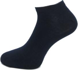 Boru Bamboo Short Sneaker Sok | 2-Pack | Marine Blauw