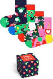 Happy Socks Kids | Walt Disney | 4-Pack Christmas Giftbox