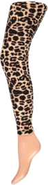 Sarlini Dames Legging Leopard | Camel