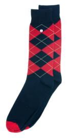 Alfredo Gonzales Socks Wall Street Navy/Red