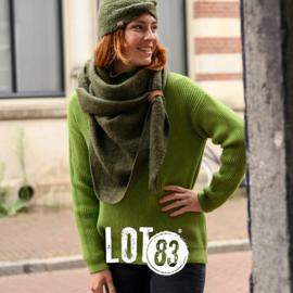 LOT83   Knitted Gebreide trui   Vera Green
