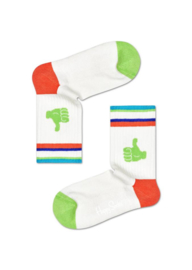 Happy Socks Kids Thumbs Up Rib Sock