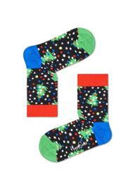 Happy Socks Kids Christmas Winter Night Socks