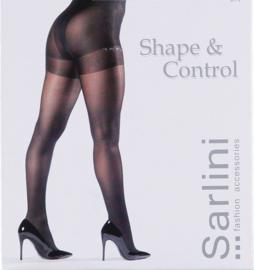 Sarlini Corrigerende 40 Denier Panty | 2-Pack | Zwart