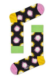 Happy Socks Sunny Smile Socks Zwart