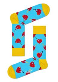 Happy Socks Broken Heart Socks Blauw