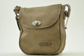 Bag2Bag Stoere Ruime, kleine tas | Mason Grey/Brownish