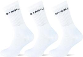 O'Neill Klassieke Sport Sokken | 6-Pack Wit, 770003