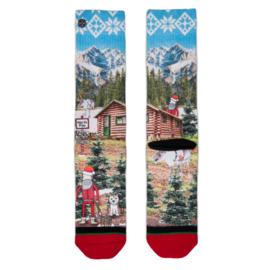 XPooos Socks, kerstsokken, Xmas Luke 60136