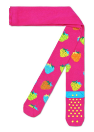 Happy Socks Kids Antislip Maillot, Strawberry Tights