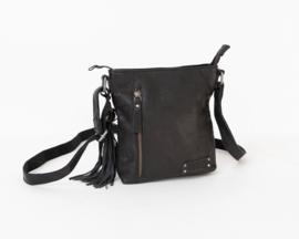 Bag2Bag Gran   Compact Schoudertasje   Crossbody   Zwart