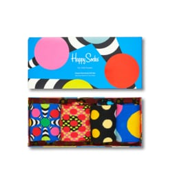 Happy Socks Classic Dots 4-Pack Giftbox