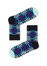 Happy Socks Optic Dot Half Crew Socks